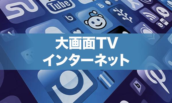 大画面TVインターネット
